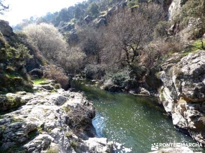 Cañón Río Aulencia-Embalse Valmenor; senderismo asturias montes de toledo aneto camping selva ira
